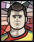 Caricaturi fotbalisti Euro 2008 - Gabriel Tamas - Euro 2008